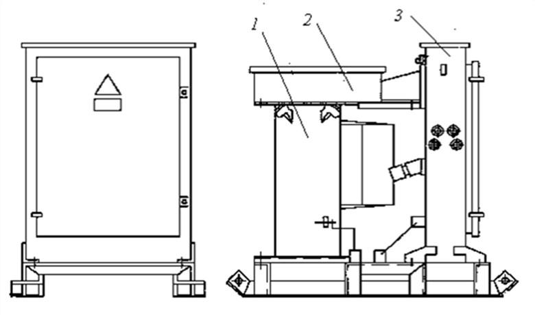 Комплектная трансформаторная подстанция для прогрева бетона