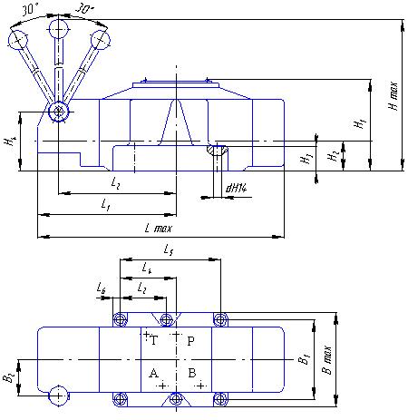 Гидрораспределитель 1Р323