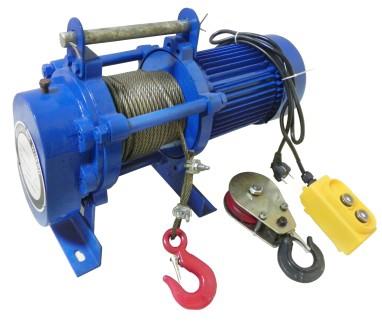 Лебедка электрическая серии KCD Лебедка электрическая серии KCD