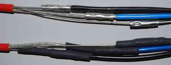 Муфта в нагревательном кабеле