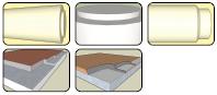 Примеры торцевания изделий инструментом GTW-1500W-DF