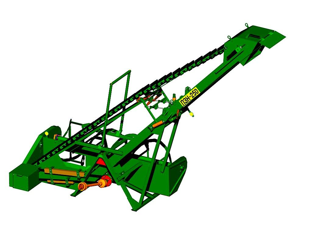 Погрузчик зерновой ПЗН-250 УД K