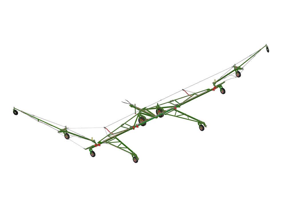 Сцепка СП-16К K гидрофицированная, на резиновом ходу