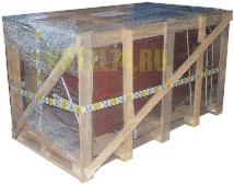 Упаковка пеллетного котла