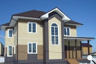 Фасадные панели Дёке фото дома