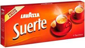 Кофе Lavazza Suerte (Лавацца Суерте)