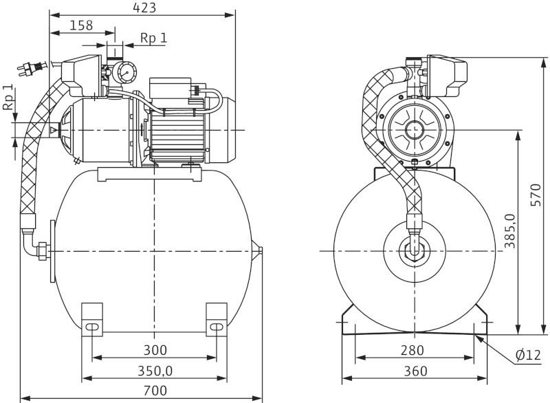 Насос Wilo-MultiCargo HMC605 EM