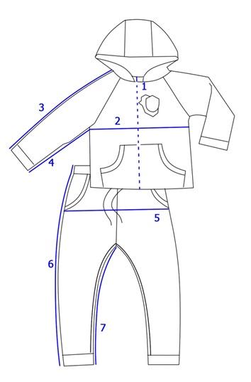 Кофта и штаны для девочки