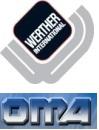 Werther-OMA W104(OMA581) Кран гидравлический, нескладной, для повышенной нагрузки, г/п 1000 кг.