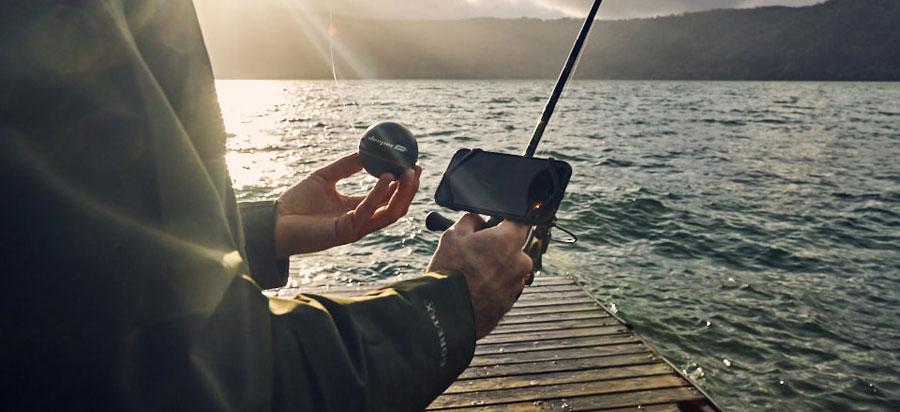 Эхолот Deeper для разных видов рыбалки – с берега, лодки или байдарки, на льду