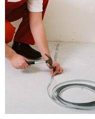 Теплый пол набивка ленты Эксон нагревательный кабель Ekson heating Cable Мат Снеготаяние