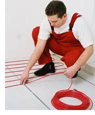 Теплый пол укладка кабеля Эксон нагревательный кабель Ekson heating Cable Мат Снеготаяние