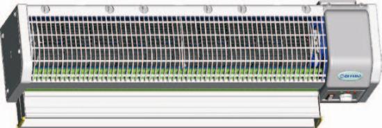 Электрические тепловые завесы Olefini Mini, высота проёма 2,3 м
