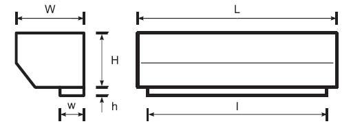 Электрические завесы Olefini, высота проёма 2,3 м