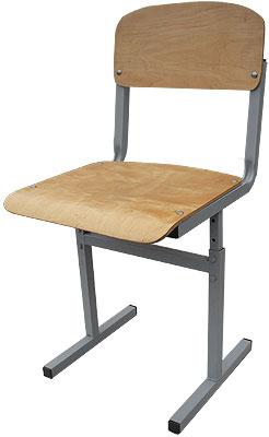 Стул школьный ученический с регулируемой высотой сиденья