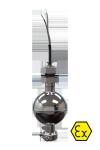 Одноуровневый поплавковый датчик ОВЕН ПДУ-3.1 с проводом НВ 0,35