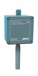 Настенный датчик температуры и влажности ОВЕН ПВТ 100