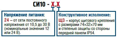 Счетчик импульсов ОВЕН СИ10