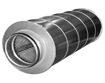 Картинки по запросу Шумоглушитель для круглых воздуховодов SCr