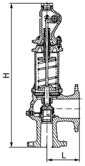 СППКР клапан предохранительный