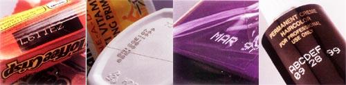 Печать лазерных принтеров LUMONICS Модели Xymark на различных материалах