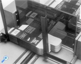 Печать может выполняться в 3 режимах: обычная печать чернилами, выдавливание без использования чернил и печать чернилами одновременно с выдавливанием.