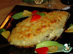 "Рецепт: Скумбрия ""Золотая рыбка"""