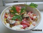 Салат из морского коктейля ингредиенты