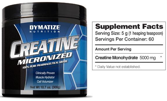 Dymatize-Nutrition-Creatine-Micronized-300-гр