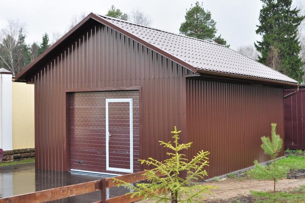 Металлический гараж ― комплектация