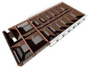 План 2 этажа гостиницы