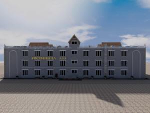 Проект трехэтажной гостиницы на 18 номеров