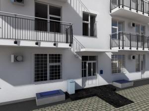 Готовый проект двухэтажной гостиницы