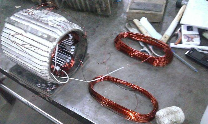 электродвигателя , ремонт эл.двигателя