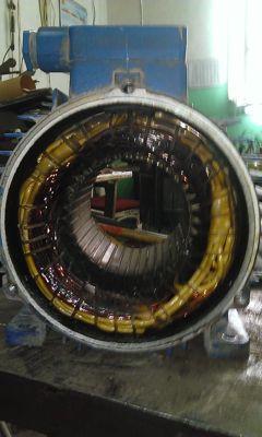 электродвигатели, ремонт эл.двигателя
