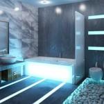 hi-tech ванная комната