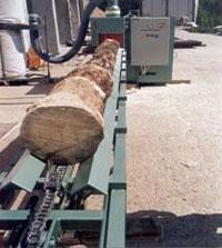 Подающий цепной транспортер брусовального станка SDH 37-2 / 55-2