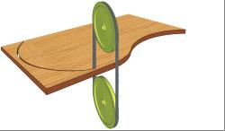 Станки ленточнопильные мод. BS 400Q, BS 500Q, BS 600Q, схема обработки