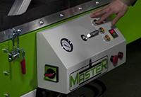 Специальный вакуумный пресс MASTER COMPOSITE S, пульт управления