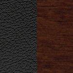 черная/дерево - орех гамильтон