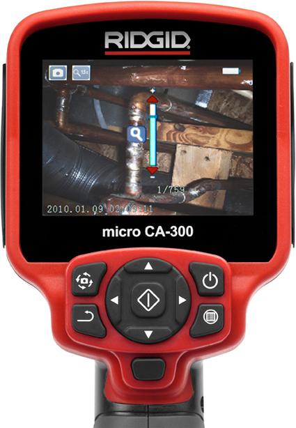 Монитор цифровой инспекционной камеры micro CA-300 RIDGID