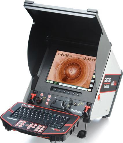 Цифровой записывающий видеомонитор SeeSnake CS-1000 RIDGID