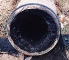 Трубопровод до очистки