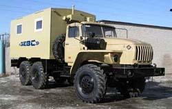 ЗЕВС-431 на базе а/м «Урал»