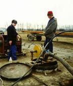 Восстановление дебита скважины электрогидроимпульсной обработкой