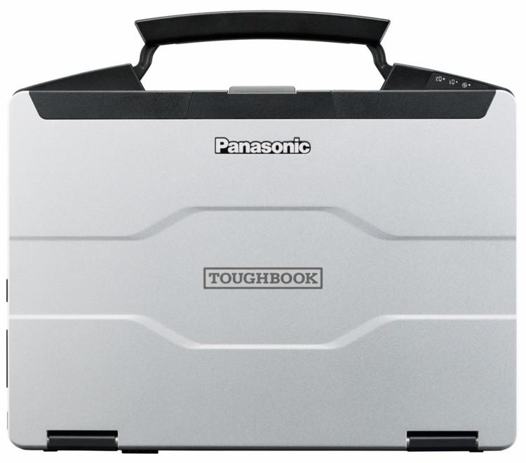 Panasonic Toughbook FZ-55 - Шасси из магниевого сплава. Корпус из магниевого сплава серебра имеет сертификат MIL-STD 810H для сопротивления вибрации и эксплуатации на экстремальных высотах и температурах.
