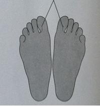 Описание: Массаж ног при давлении