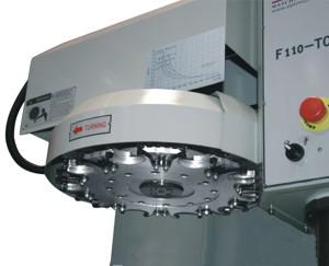 Станок F110 TC-CNC: автоматический сменщик инструмента