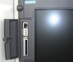 Станок F110 TC-CNC: разъемы Ethernet, USB