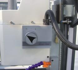Станок M2 CNC: переключатель оборотов